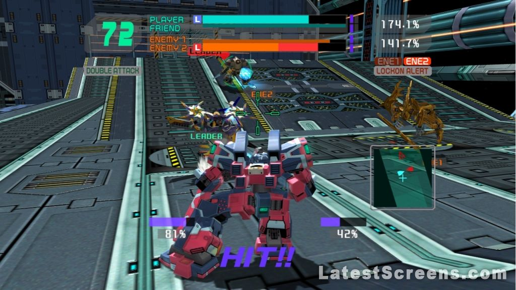 All Cyber Troopers Virtual On Force Screenshots For Xbox 360