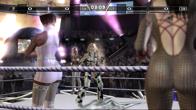 All Rumble Roses XX Screenshots For Xbox 360