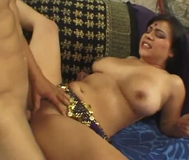 Massive Big White Cock Drills Indian Porn Stars Wet Pussy In Missionary Position