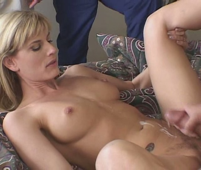 Beautiful And Horny Blonde Milf Fucks Another Guy At The Request Of Her Boyfriend