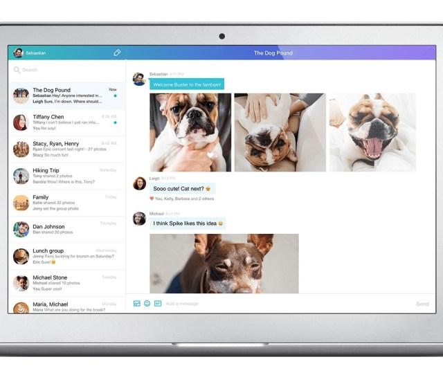 Screenshot 1 For Yahoo Messenger View Larger Download