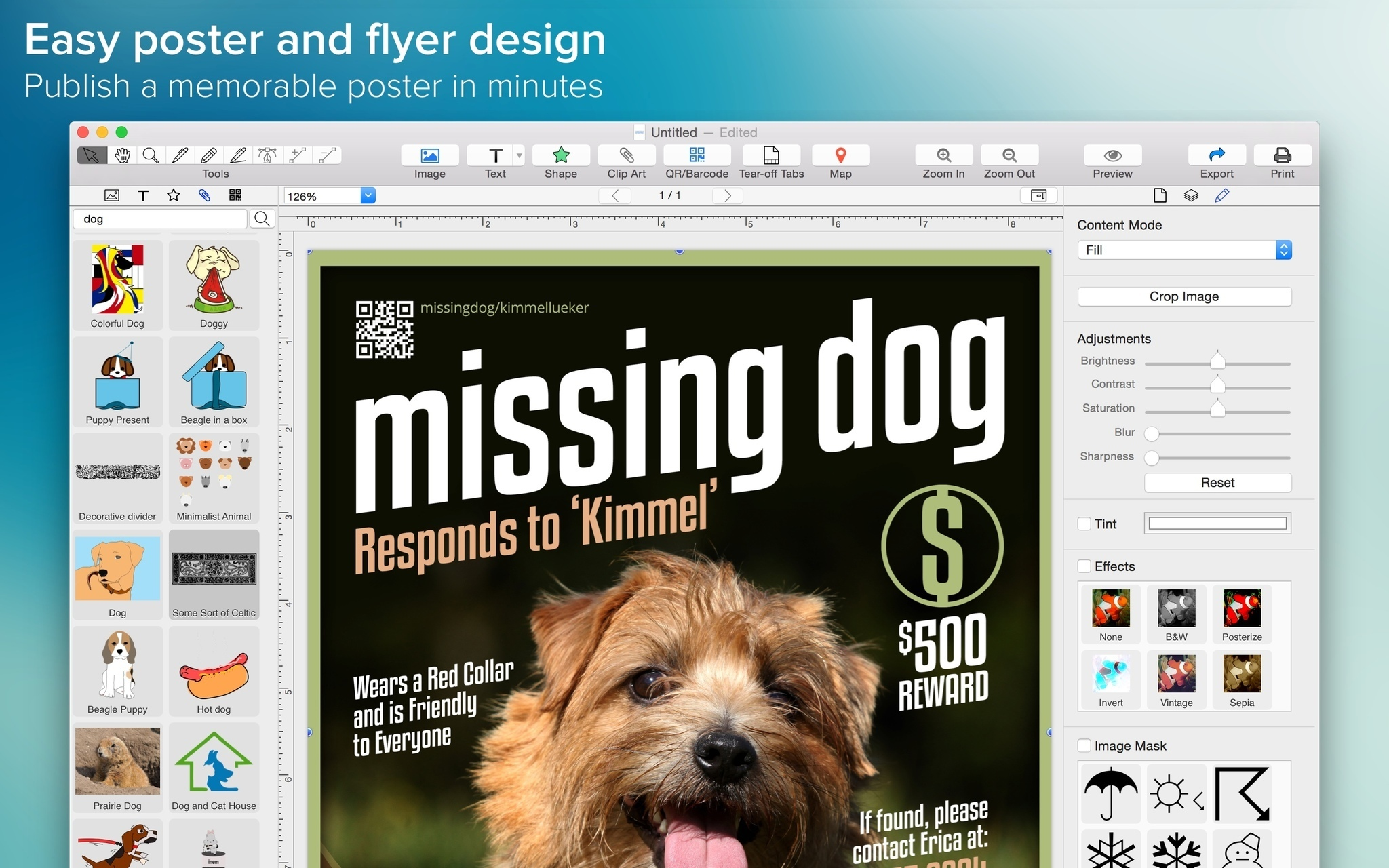 Poster Maker 1 1 0 Free Download For Mac
