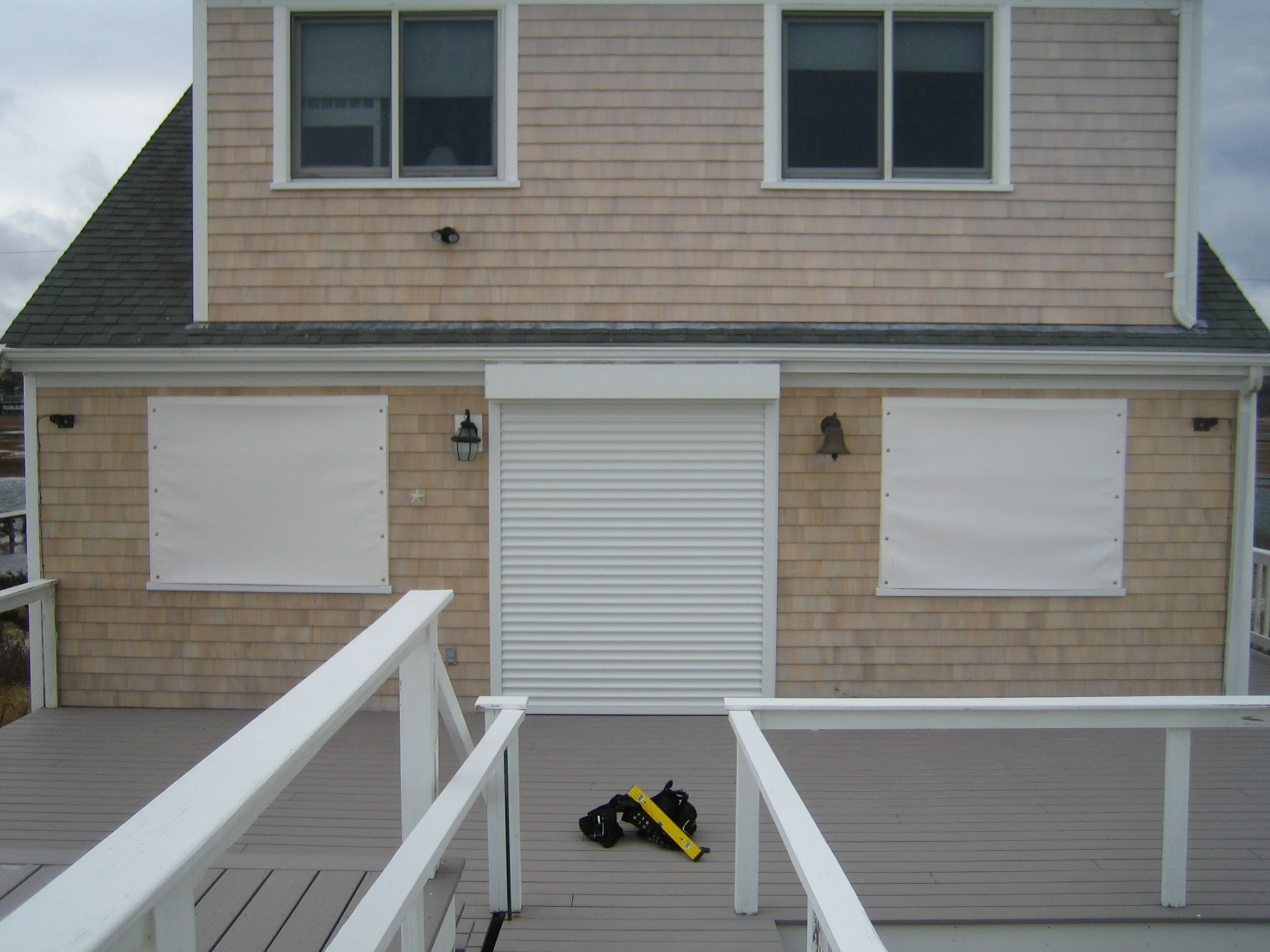 Hurricane Protection Cape Cod Retractable Inc Awnings