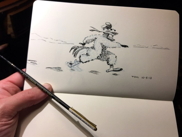 5mgs5-inktober2018-chicken