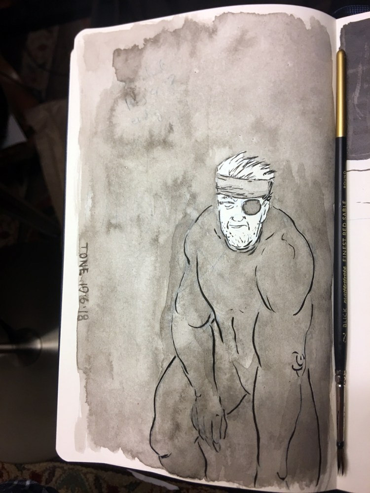 7-mgs5-exhausted-inktober-wash