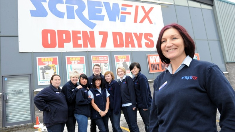 Wolverhampton Screwfix Store Is Best In The UK