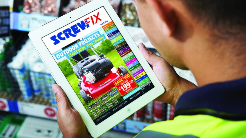 Start with Screwfix this spring!