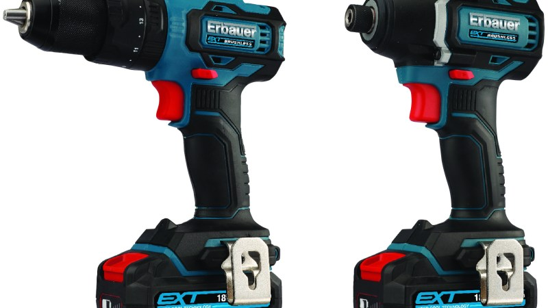 Screwfix boosts Erbauer power tools range – wider choice and greater value for tradespeople