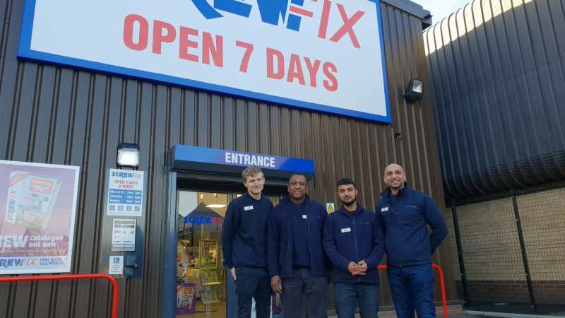Fourth Screwfix Store Opening In Coventry Hailed As A Big Success