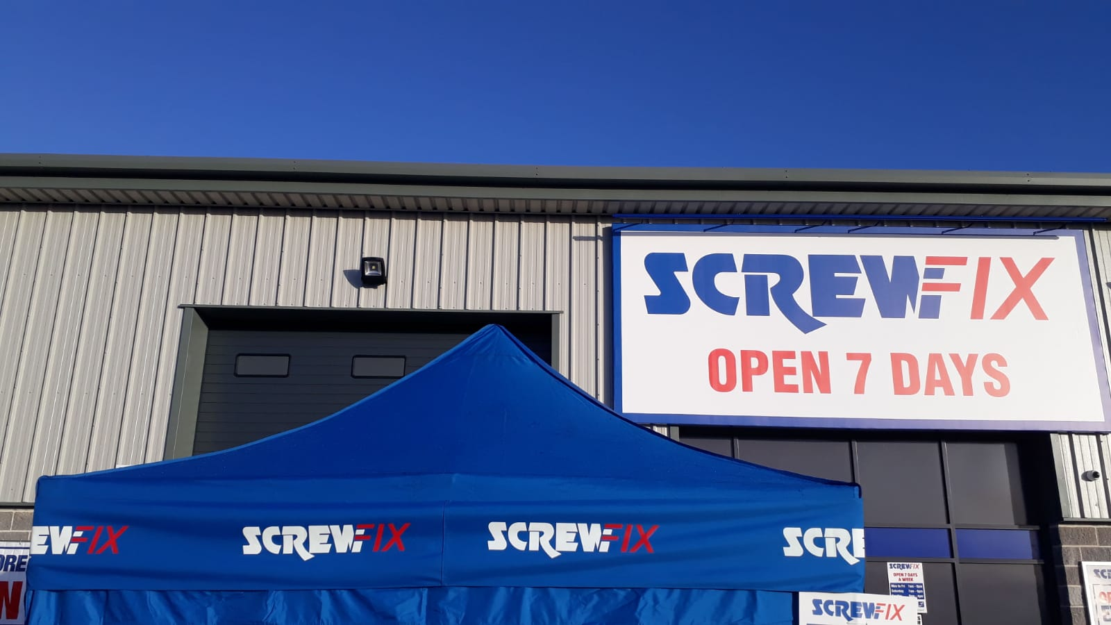 Jobs boost for Douglas – Isle of Man, as a new Screwfix store opens