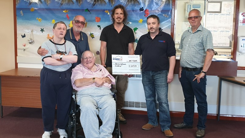 Whitehaven based charity gets a helping hand from The Screwfix Foundation