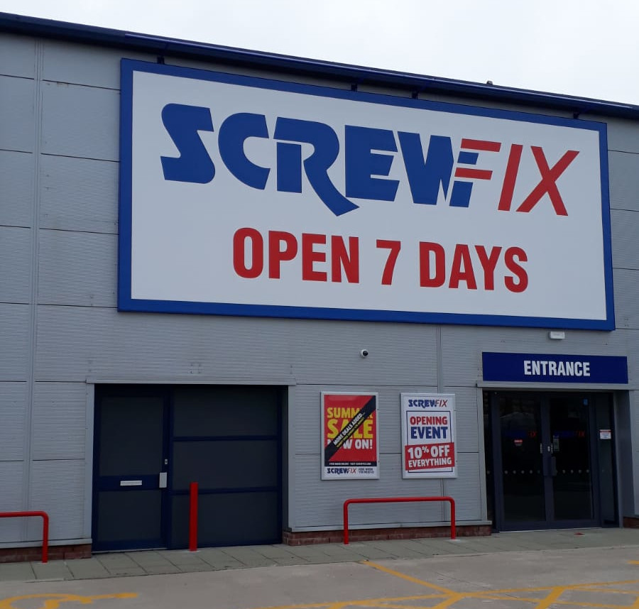 Ormskirk celebrates new Screwfix store opening