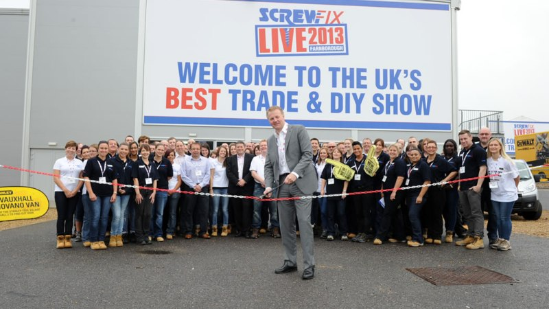 Screwfix Builds Bricks and Mortar Presence with 300th Store