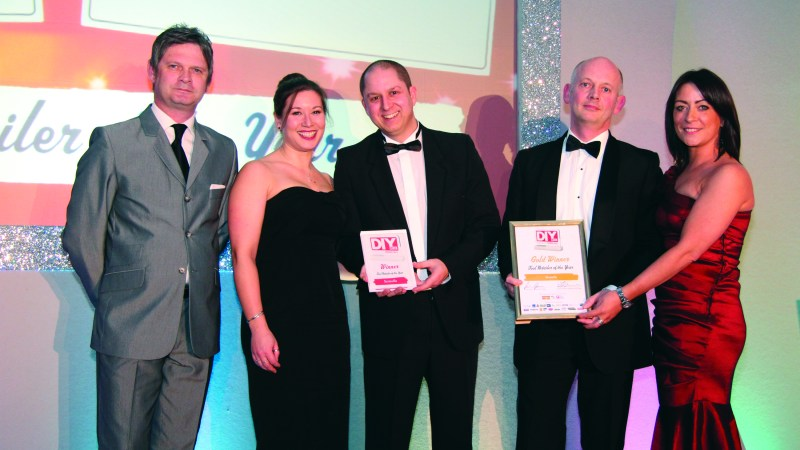 Screwfix celebrates being crowned 'Tool Retailer of the Year'