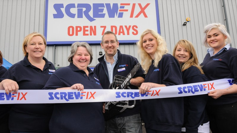Frome's first Screwfix store is declared a runaway success