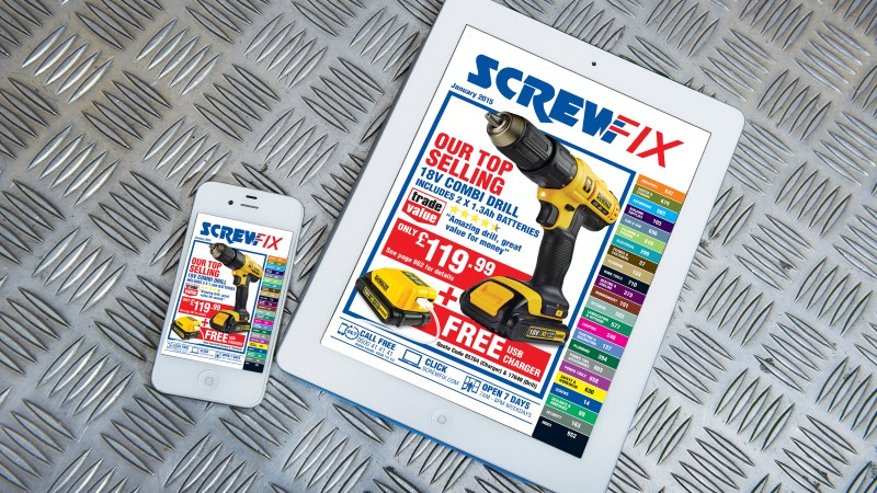 Exclusive new products from Screwfix