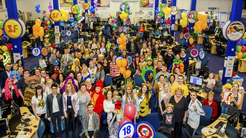 Screwfix takes calls to help Children in Need raise over £46 million