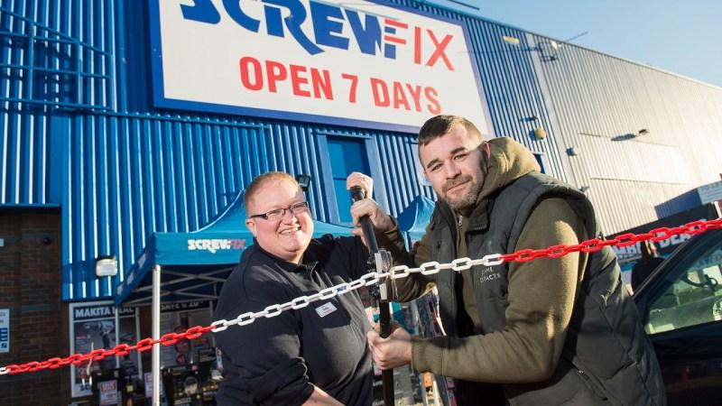 Screwfix opens its doors in Southampton