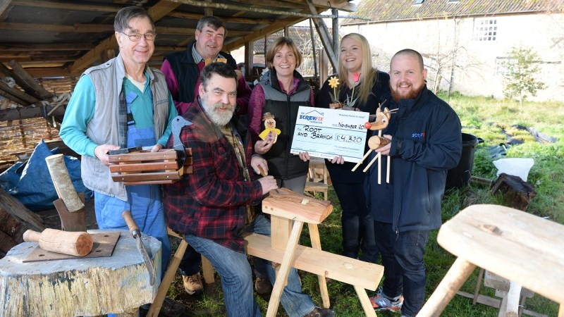 Root and Branch receives generous donation from the Screwfix Foundation