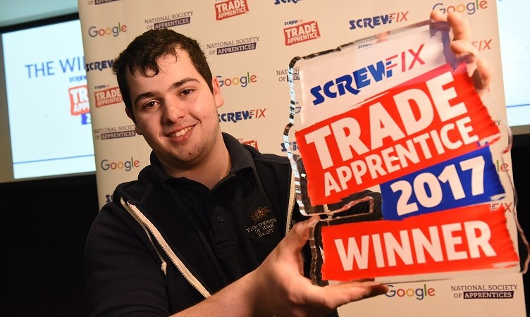 The search begins for Screwfix's top Trade Apprentice 2018
