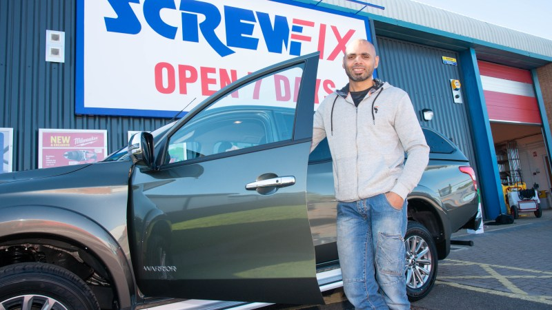 New wheels for Britain's Top Tradesperson