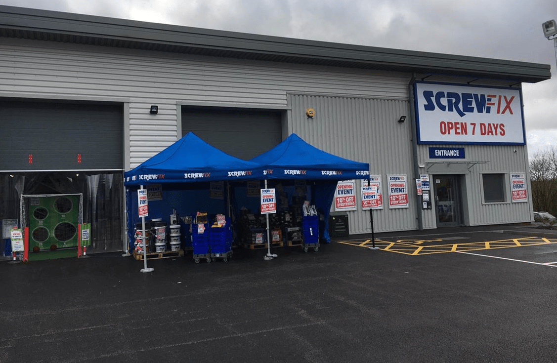 Screwfix Store Opening Is A Huge Success In Trentham