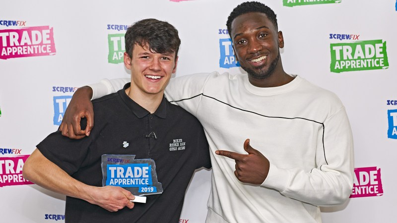 Our Trade Apprentice 2019 winner helps set up Field Day Festival