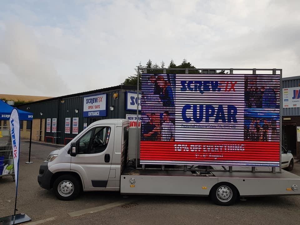 Cupar celebrates new Screwfix store opening
