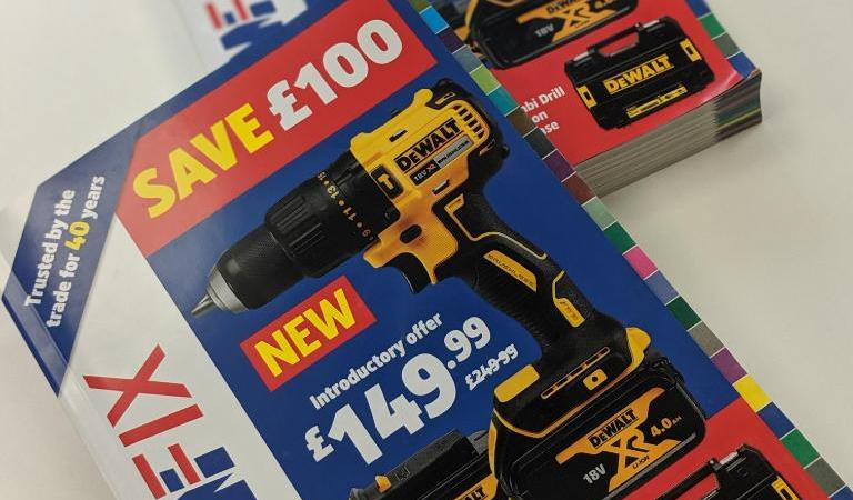 Save £100 on the brand new DeWalt 18V XR Brushless Drill