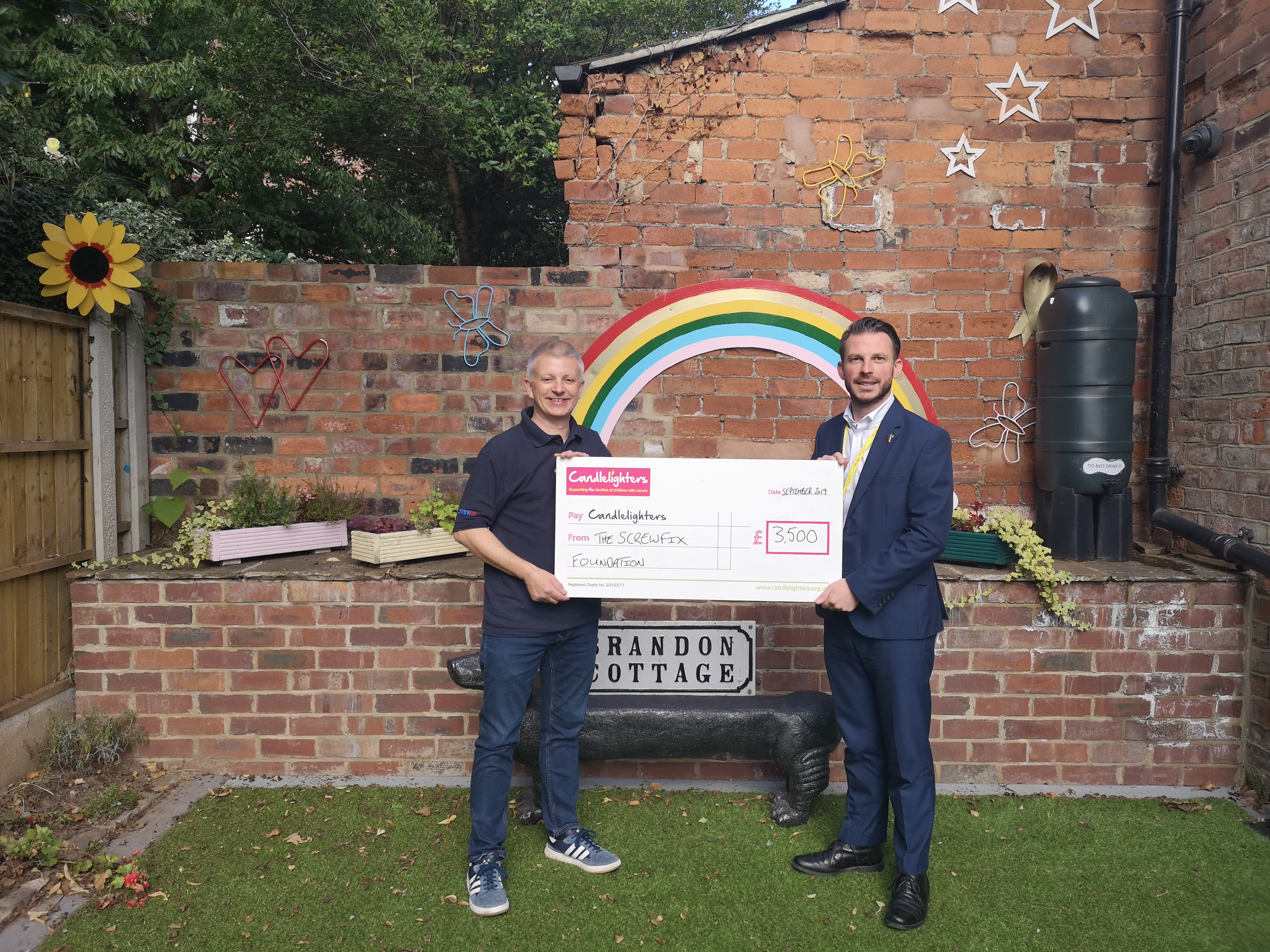 The Screwfix Foundation supports Candlelighters in Leeds