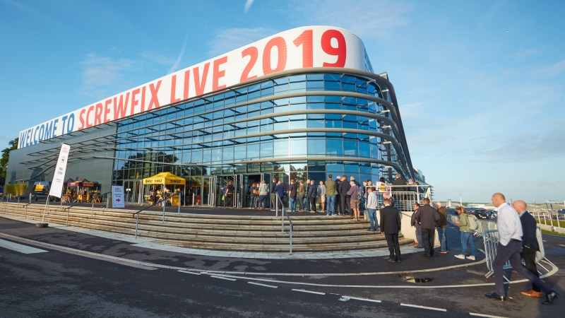 Records broken for another year at Screwfix Live!