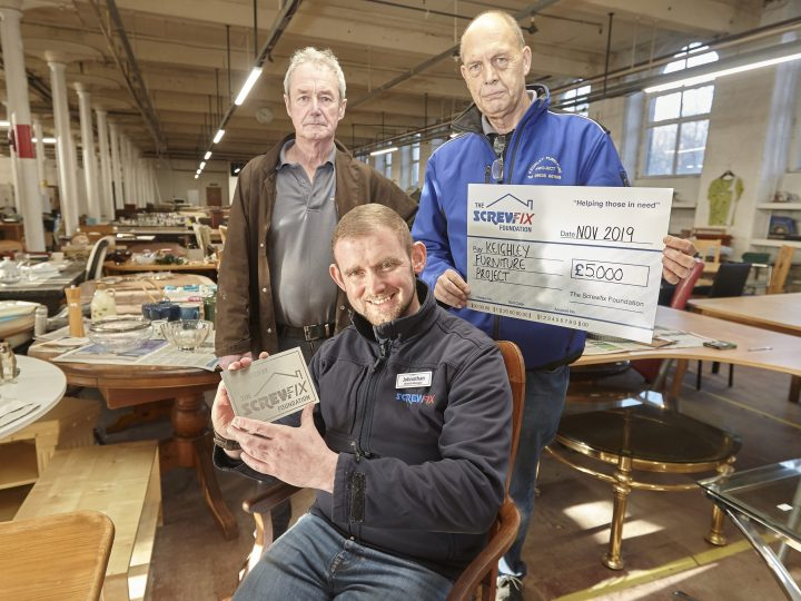 The Screwfix Foundation supports Keighley Furniture Project