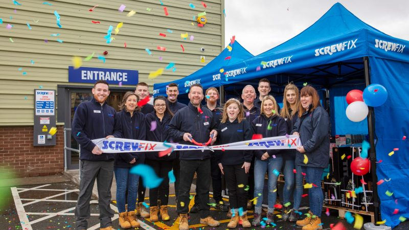 Swords Celebrates New Screwfix Store Opening