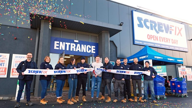 Waterford Celebrates New Screwfix Store Opening