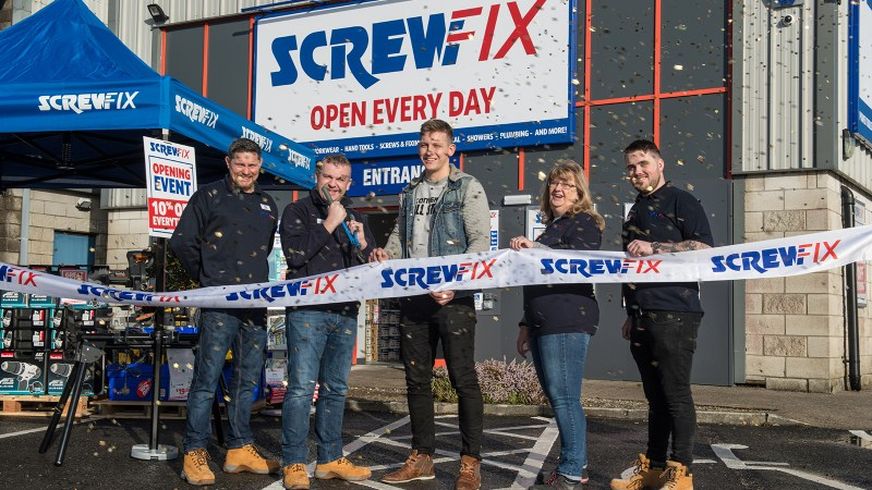Ennis Celebrates New Screwfix Store Opening