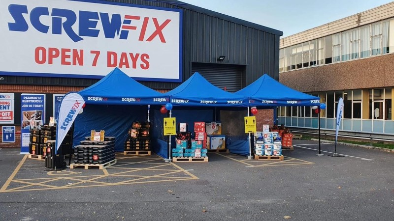 Screwfix opens new store in Salisbury