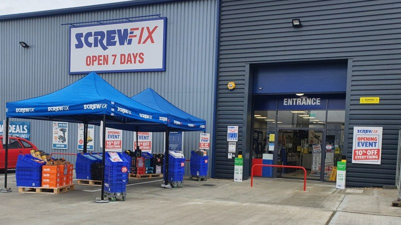 Screwfix opens its doors in Herne Bay