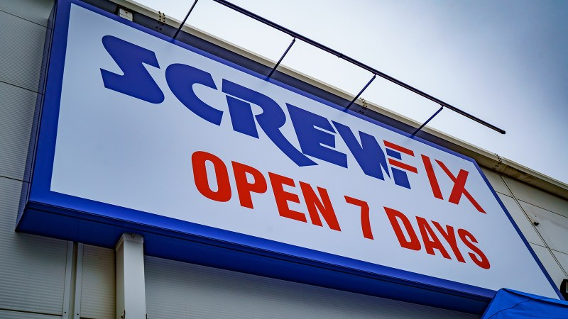 Screwfix Launches Rapid Delivery Service