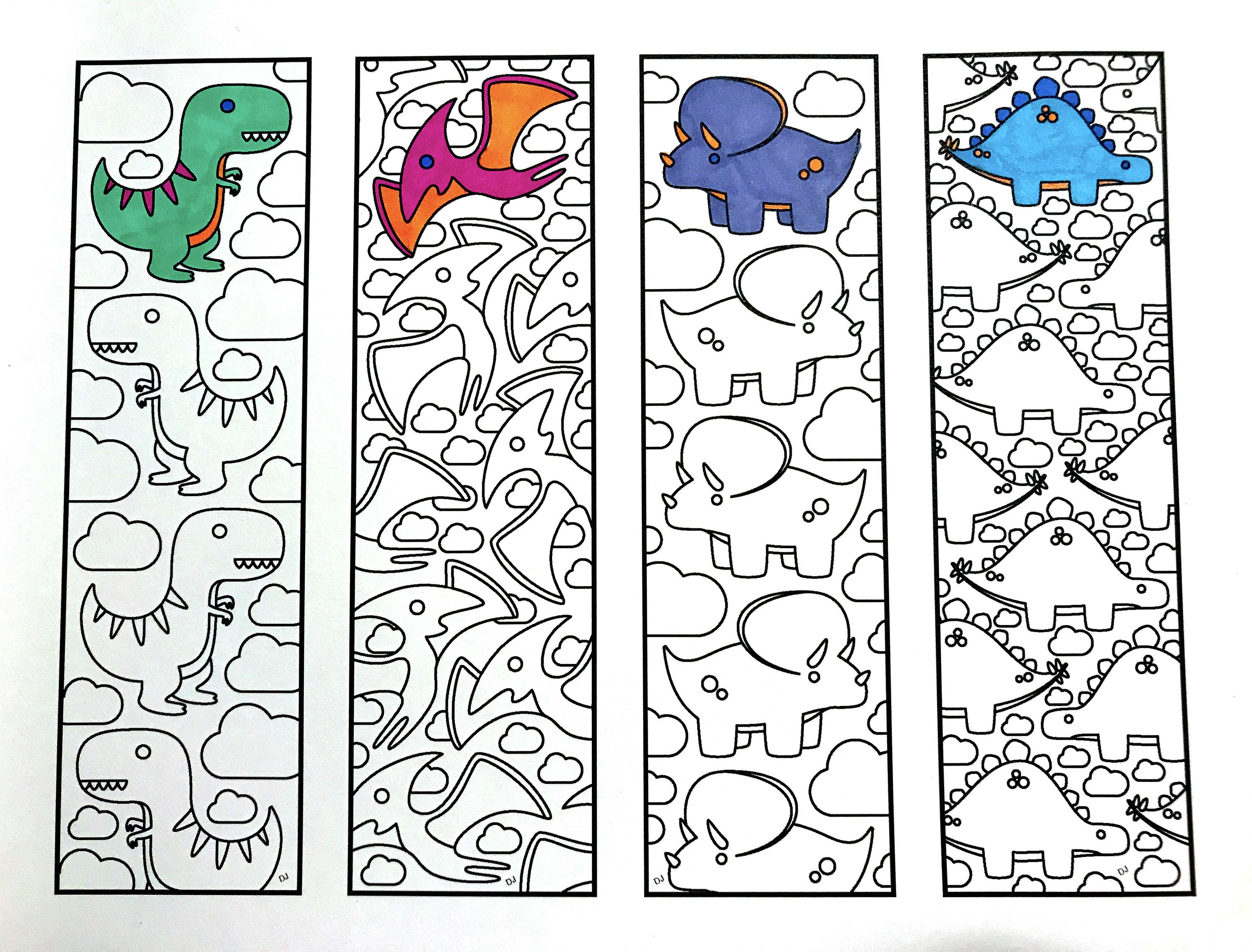 Ten Printable Bookmark Coloring Pages To Inspire Your Kids ...