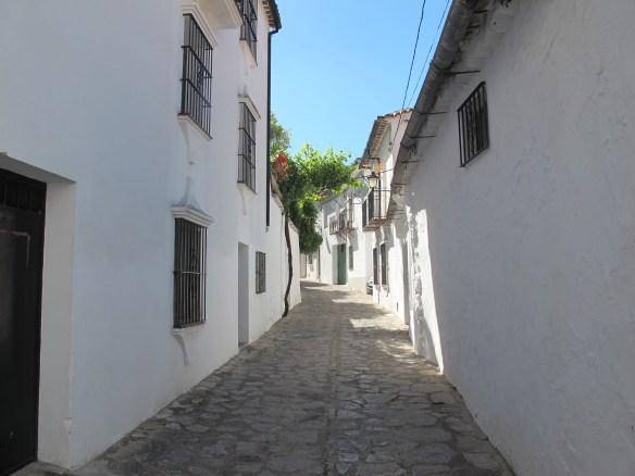 Street in Grazalema.