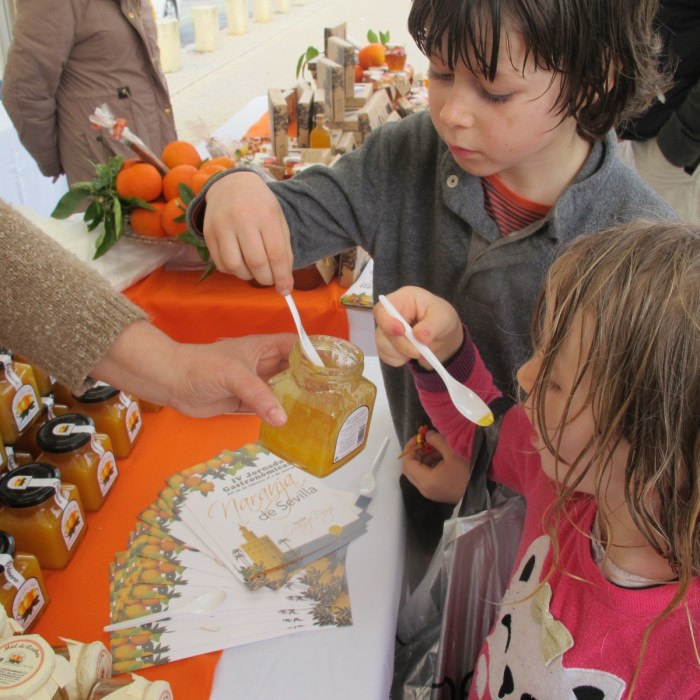 The sweet marmalade went down a treat with my children...