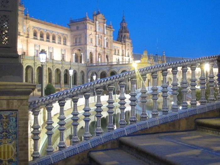 Plaza de España, the centrepiece of Expo 29.