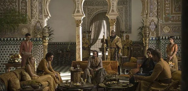 Game of Thrones Season 5: the Water Gardens of Dorne, aka the Alcazar of Seville
