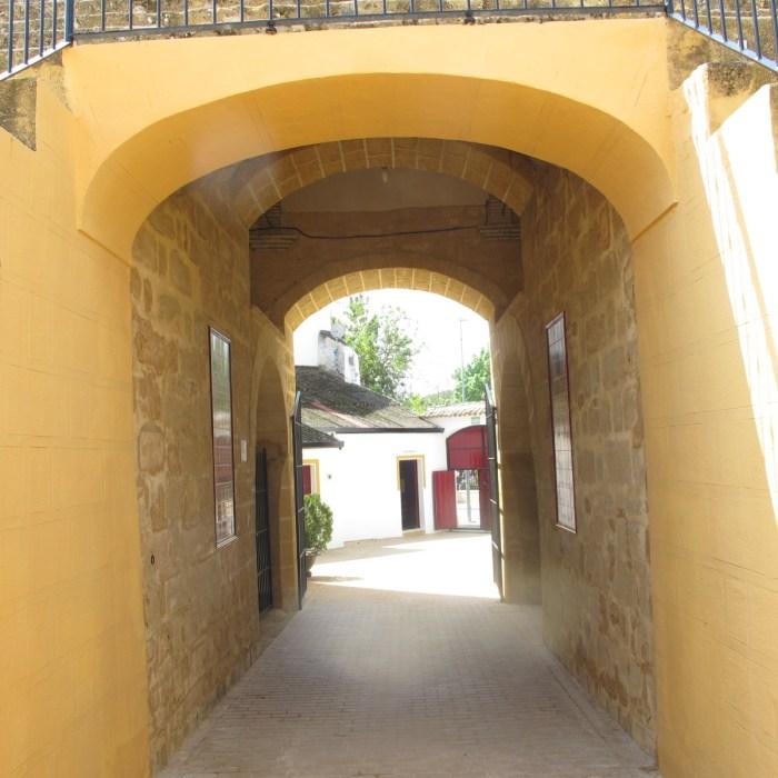Entrance corridor.