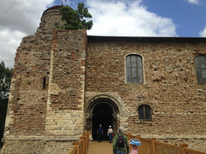 Colchester Castle, the biggest Norman keep in Europe.