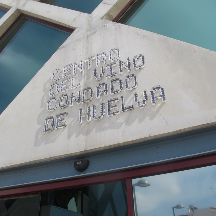 The wine interpretation centre in Bollullos Par Del Condado.