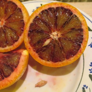 Blood oranges from Bio Valle in Palma de Rio, Cordoba.