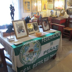The Duchess was a fan of Betis football club.