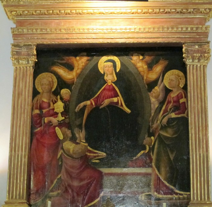 Neri di Bicci painting in the chapel.