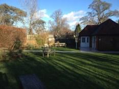 The pretty garden